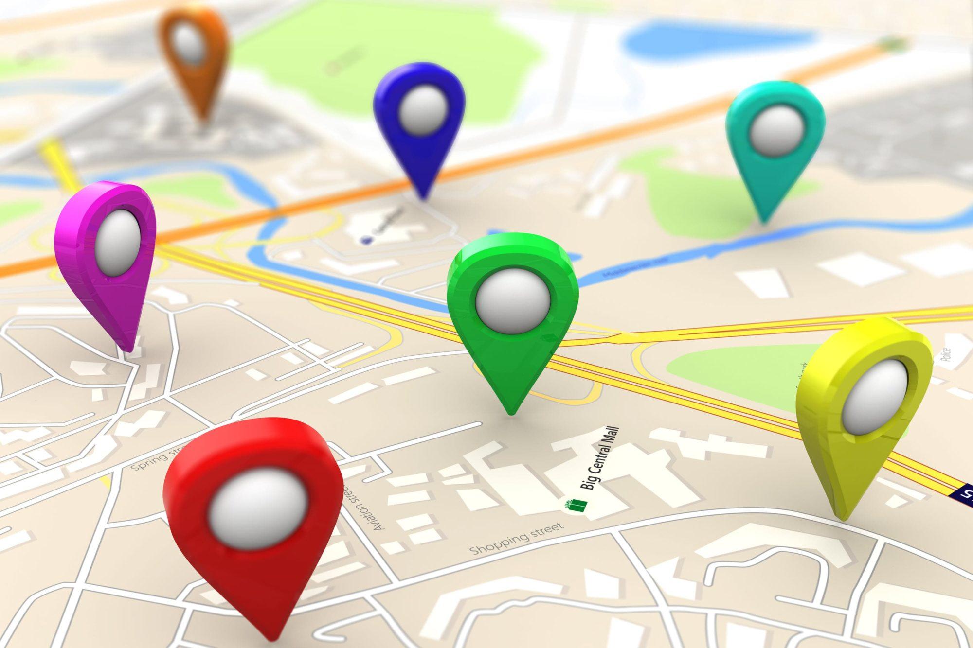 Micro local ranking locations in Google.