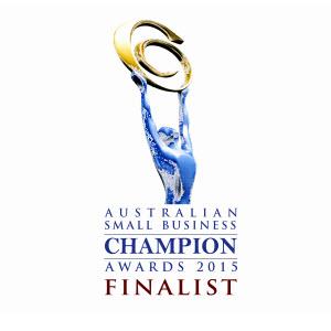 Australian Small Business Champion Awards 2015 Finalist.